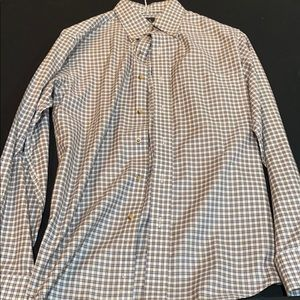 Long sleeved collared shirt